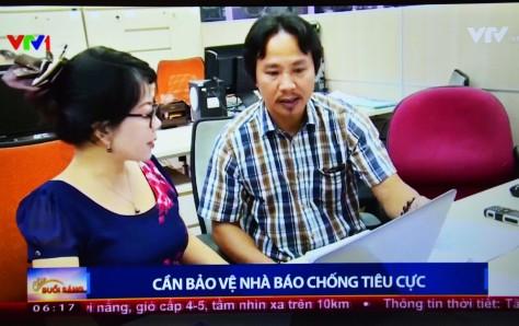 TN_Đồng nghiệp VTV lên tiếng trong ngày Nhà báo năm 2017